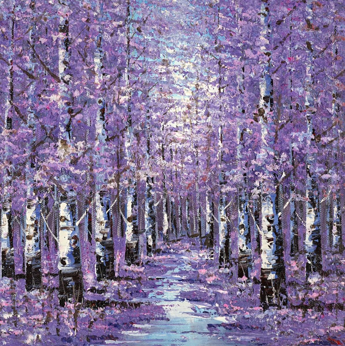 Lavender Woodland II